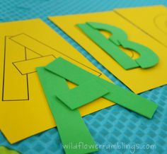 Early Literacy Tactile Activities