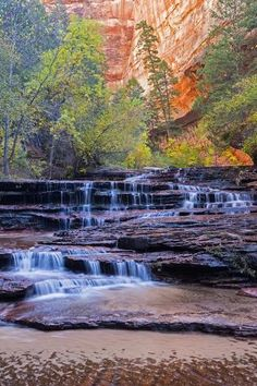 Stairway Cascades - Zion National Park, Utah by Shane McDermott Nebraska, Oklahoma, Zion National Park, National Parks, Wyoming, Puerto Rico, Places To Travel, Places To See, Vacation Places