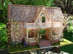 mod doll houses | Doll House The Bluebird of Happiness by LovelyDayForAPicnic