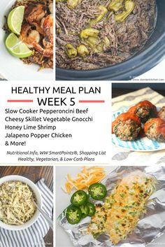 Healthy Meal Plans Week 5: Creating a Breakfast Routine - Slender Kitchen