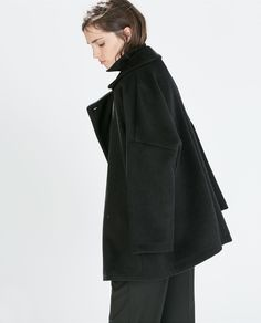 DOUBLE BREASTED OVERCOAT from Zara