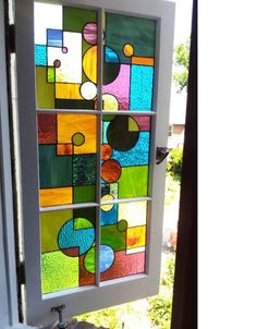 Modernist Stained Glass