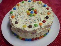 bolodefesta4 Meu bolo de festa - obs : tem a receita do glacê de leite condensado super fácil