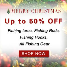 Merry Christmas Sale Merry Christmas Sales Up to off. All fishing gears. Fishing Boats, Fishing Lures, Best Bass Bait, Christmas Sale, Merry Christmas, Fishing Lights, Alaska Fishing, Fishing Report, Gear Shop