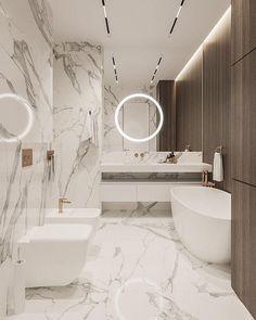 Washroom Design, Toilet Design, Bathroom Design Luxury, Modern Bathroom Design, Modern Luxury Bathroom, Home Room Design, Home Interior Design, Interior Modern, Interior Ideas