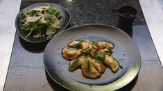 MasterChef - Spinach and Ricotta Stuffed Gnocchi - Recipe By: Gina Ottaway - Contestant Sauteed Spinach, Spinach And Cheese, Burnt Butter Sauce, Masterchef Recipes, Steamed Potatoes, Ricotta Gnocchi, Masterchef Australia, Potato Ricer, Walnut Salad