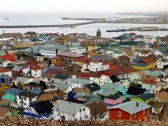 Saint-Pierre, capital of St. Pierre et Miquelon (French Overeseas Territory) near Newfoundland