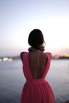 pink :: open back