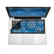 Laptop Accessories Blue And White Porcelain Us Version Keyboard Skin Cover For Macbook Air/pro/pro Retina 13.3 15.4 Have Track Meafo