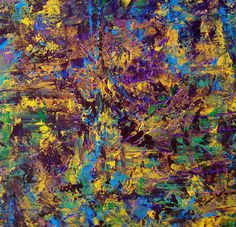 Famous Palette Knife Painters | Original abstract palette knife painting on gallery wrapped canvas ...