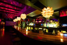 Check out CosmoLava, two hot lounges in one space. Atlanta Attractions, Atlanta Nightlife, Night Club, Night Life, Lounges, Cosmos, Space, Knot, Trips