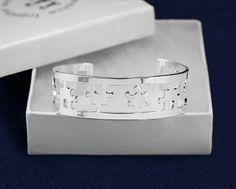 Autism Puzzle Piece Cuff Bracelet (RETAIL)