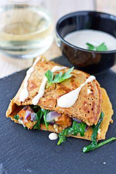 Pancake Calzone #vegan #glutenfree www.contentednesscooking.com