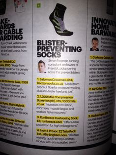 Blister-preventing socks