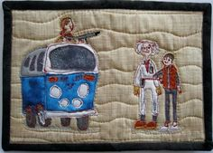 Back to the Future quilt... amazing!