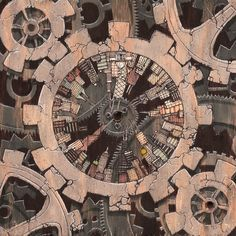 quantacity one [clock] by ~andyvanoverberghe on deviantART