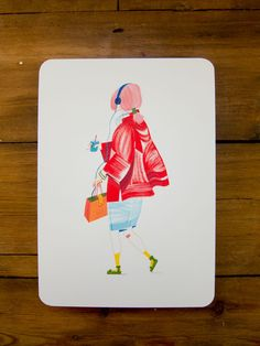 Image of Walking Girl