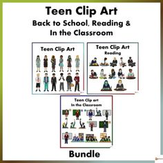 Teen Back To School, Reading and In the Classroom Clip Art Bundle Reading Resources, Reading Strategies, School Resources, Classroom Resources, Teacher Resources, Teaching Ideas, Classroom Ideas, Classroom Displays, Classroom Organization