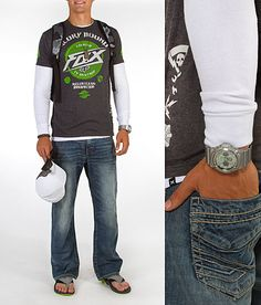 'Moto to the Max' #buckle #fashion #guysclothes www.buckle.com
