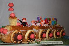 Ciloubidouille » Gâteaux de fête - Petit train