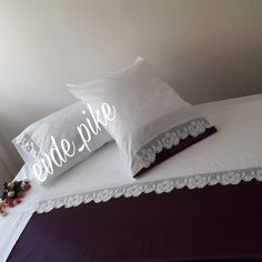 Bed Pillows, Pillow Cases, Home, Pillows, Haus, Homes, Houses, At Home