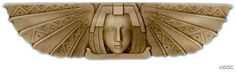 """Did you Walk Like an Egyptian in the 80's?  Now you can decorate like one! We have more than a dozen Egyptian-themed decorative reliefs that you can use to give your home a little """"Wow!"""""""