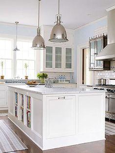 Fresh Ideas for White Kitchens