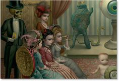 Mark Ryden - Illustration - PopSurrealism - The parlor - 5