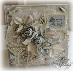 Tattered Treasures: Pion Mother's Day Card