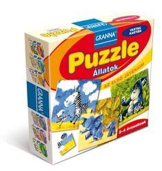 +2  Granna Az első játékaim Puzzle - Állatok
