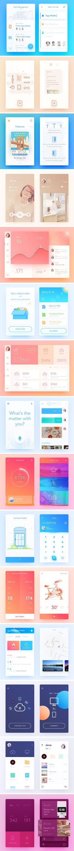Inspirational UI Elements vol. 3 — download free ui kits by PixelBuddha