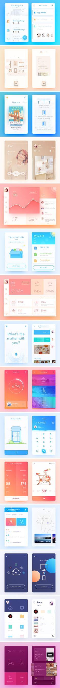 Inspirational UI Elements vol. 3 — download free ui kits by PixelBuddha