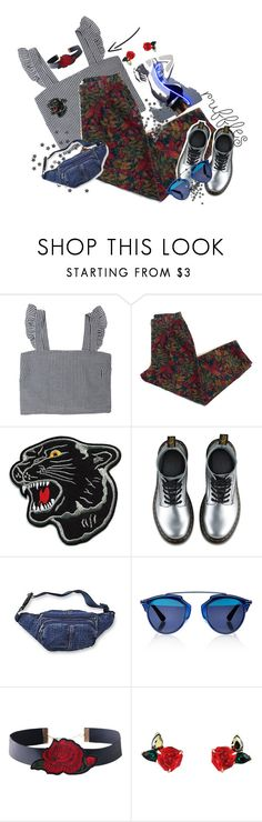 """""""ruffles..."""" by anny1984 ❤ liked on Polyvore featuring Dr. Martens, Joe Boxer, Christian Dior and Burberry"""