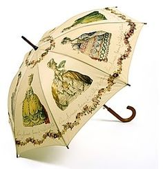 parasol with Marie Antoinette graphics - fun!