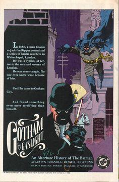 310cc785cb27 Gotham by Gaslight  An Alternative History of the Batman (DC Comics - 1989)