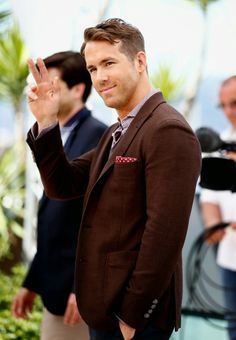 Ryan Reynolds at a press conference for The Captive at the Cannes Film Festival