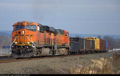 RailPictures.Net Photo: BNSF 6848 , BNSF 4307 BNSF GE ES44C4 at Sunbury, Pennsylvania by WILLIAM KLAPP