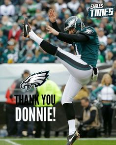 0510d520cd9 Donnie Jones is caling it a career in the NFL! He hangs up the cleats after  14 seasons and in the best possible way! Thanks for everything you did as  an ...