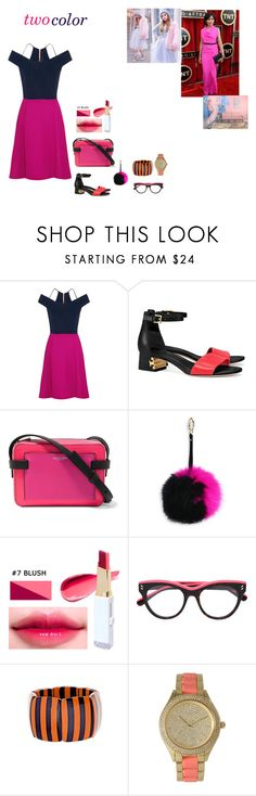 """two colors"" by jellianebuizon ❤ liked on Polyvore featuring Roland Mouret, Tory Burch, Michael Kors, Adrienne Landau, STELLA McCARTNEY, Fornash and Olivia Pratt"
