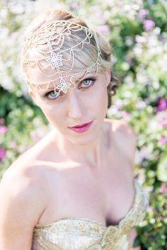 Bronze wedding makeup. Bridal makeup. Glamour in the Gardens | The Bride's Tree - Sunshine Coast Wedding