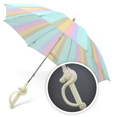 This splendid unicorn umbrella for those not-so-magical rainy days. | 26 Magical Unicorn Things You Need In Your Life