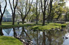 Linköpings Trädgårdsförening | The beautiful and historical city park in Linköping, Sweden