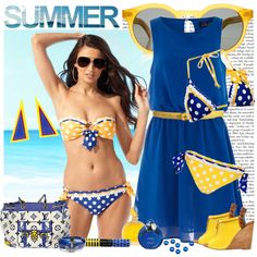 Betsey had to be thinking of AXiD when she designed this bathing suit!