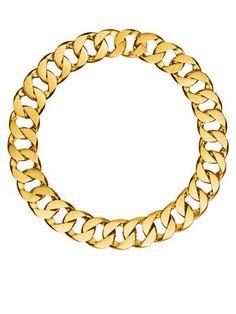 Verdura chainlink necklace