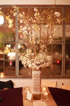 Don't know if I'll do tall centerpieces, but I like these.