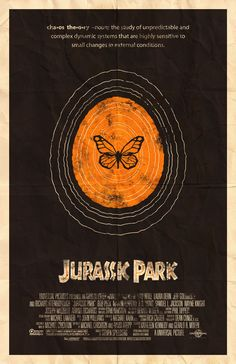 Jurassic Park 11x17 Movie Poster by adamrabalais on Etsy, $20.00