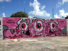 Miami, Fl Usa, Lp, Street Graffiti