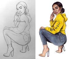 ✨✨✨ #fashiondrawing #fashionillustration #drawing #illustration #art #artist #fashionable #nataliamadej #sketch #outfits #fashionsketch #girl #art #wip #copicart #copicillustration #copicmarkers #sharingart #artmagazine