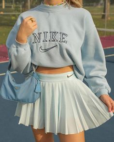 Adrette Outfits, Cute Skirt Outfits, Cute Comfy Outfits, Indie Outfits, Teen Fashion Outfits, Retro Outfits, Girly Outfits, Look Fashion, Stylish Outfits