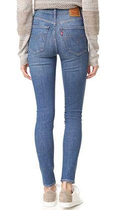 Levi s Mile High Super Skinny Jeans  jeans Pantalones Skinny Mujer 52144600992